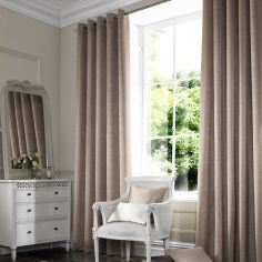 Hadley Otter Natural Made to Measure Curtains