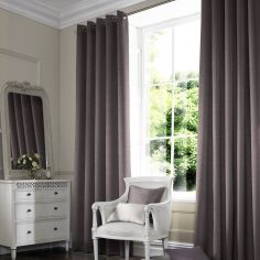 Hadley Grey Black Made to Measure Curtains