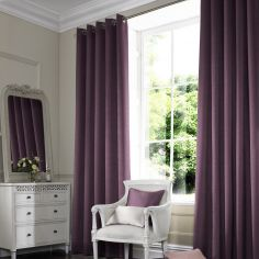 Hadley Aubergine Purple Made to Measure Curtains