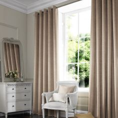 Hadley Cashew Natural Made to Measure Curtains