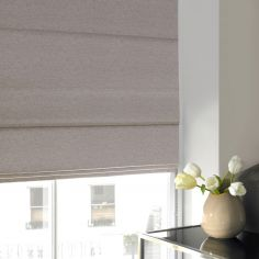 Camryn Heather Red Pink Terracotta Roman Blind