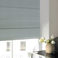 Camryn Duck Egg Blue Roman Blind