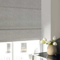 Ainsley Silver Roman Blind
