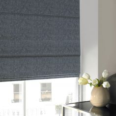 Ainsley Sky Blue Roman Blind