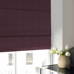 Makayla Berry Red Pink Terracotta Roman Blind