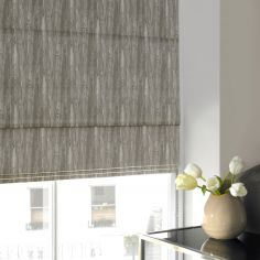 Madison Sage Green Yellow Roman Blind