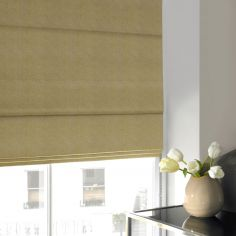 Melanie Zest Green Yellow Roman Blind