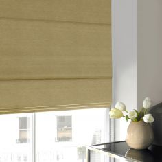 Hadley Zest Green Yellow Roman Blind
