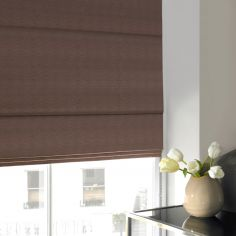 Hadley Vole Natural Roman Blind