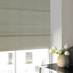 Hadley Pistachio Green Yellow Roman Blind