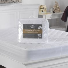 Luxurious Egyptian Cotton Mattress Protector