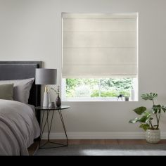 Karina Oyster Natural Roman Blind