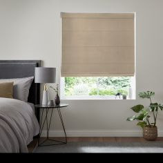Karina Latte Cream Roman Blind