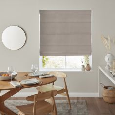 Karina Pewter Grey Roman Blind