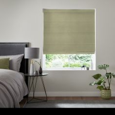 Karina Apple Green Yellow Roman Blind