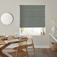 Karina Fern Green Yellow Roman Blind