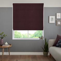 Karina Claret Purple Roman Blind