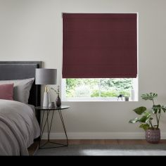 Karina Wine Purple Roman Blind
