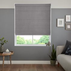 Karina Platinum Grey Roman Blind