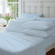 Catherine Lansfield Brushed Cotton Duvet Cover Set - Blue