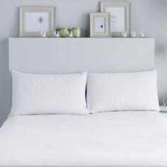 Flannelette 100% Brushed Cotton Pillowcases - White