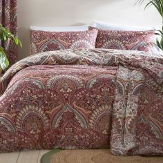 Palais Damask Quilted Bedspread - Multi