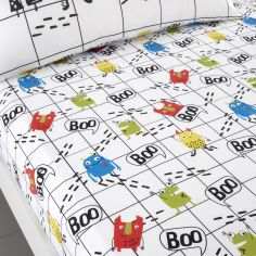 Cosatto Monster Mob Kids Twin Pack Fitted Sheets - Multi