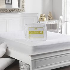 Pure Cotton Natural Mattress Protector