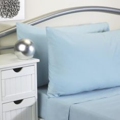 Softguard Flame Retardant Fitted Sheet - Duck Egg Blue