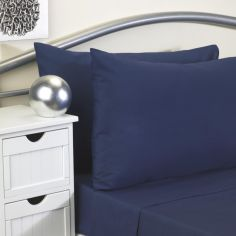 Softguard Flame Retardant Fitted Sheet - Navy Blue