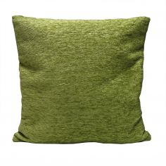 Plain Chenille Cushion Cover 18 Inch - Green