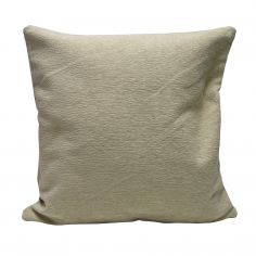 Plain Chenille Cushion Cover 18 Inch - Cream
