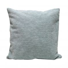 Plain Chenille Cushion Cover 22 Inch - Duck Egg Blue