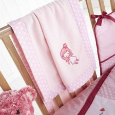 Enchanted Pram Crib Blanket