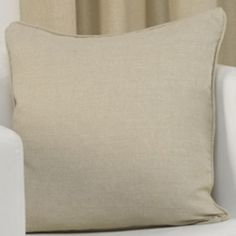 Plain Belmont Natural Cream Cushion Cover