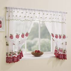 Winchester Kitchen Window Set - Red