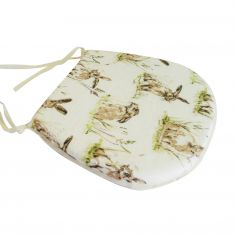 Hares Tie On Seat Pad