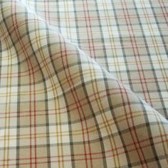 Natural Lewis Tartan Made to Measure Curtains