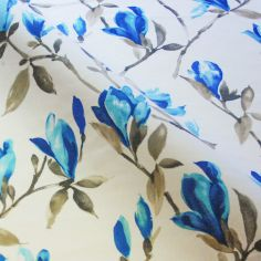 Blue Maya Made to Measure Curtains
