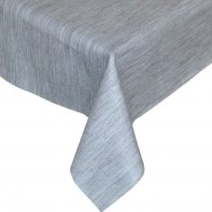 Textured Grey Plastic Tablecloth Wipe Clean Pvc Vinyl