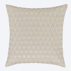 Catherine Lansfield Lille Gold Cushion Cover