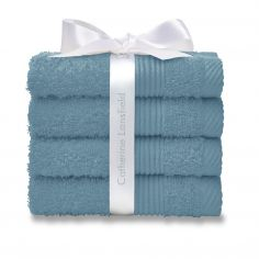 Catherine Lansfield 100% Cotton Towel - Aqua