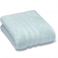 Catherine Lansfield Zero Twist 100% Cotton Towel - Duck Egg Blue