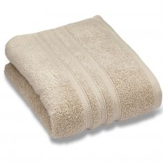 Catherine Lansfield Zero Twist 100% Cotton Towel - Natural