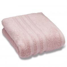 Catherine Lansfield Zero Twist 100% Cotton Towel - Pink