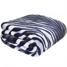Catherine Lansfield Raschel Zebra Print Throw