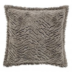 Supersoft Natural Wolf Cushion