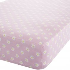 Catherine Lansfield Daisy Dreamer Pink Fitted Sheet