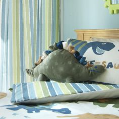 Catherine Lansfield Dinosaur Shaped Cushion