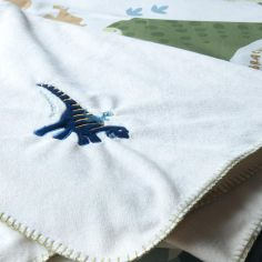 Catherine Lansfield Dinosaur Supersoft Throw / Blanket
